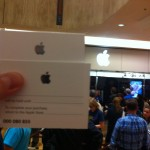 iPad2 Reservation Cards